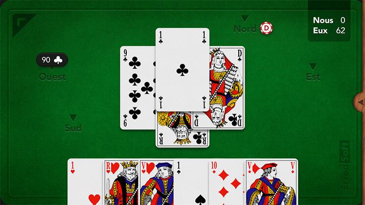 jeu de belote coinche gratuit